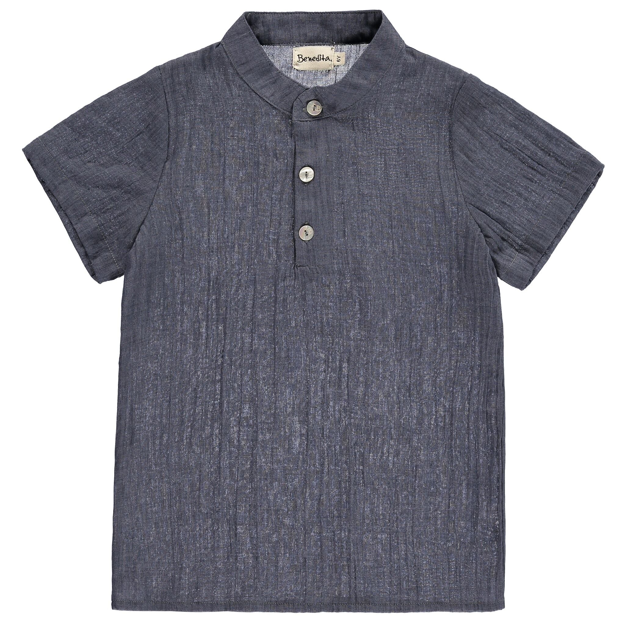 Boys Denim Blue Tunic