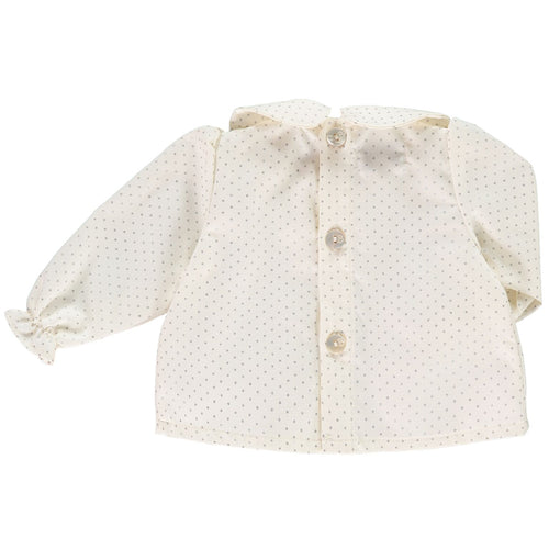 Silver Dots Baby Tunic