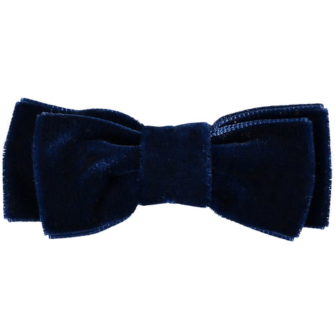 Bordeaux Velvet Bow