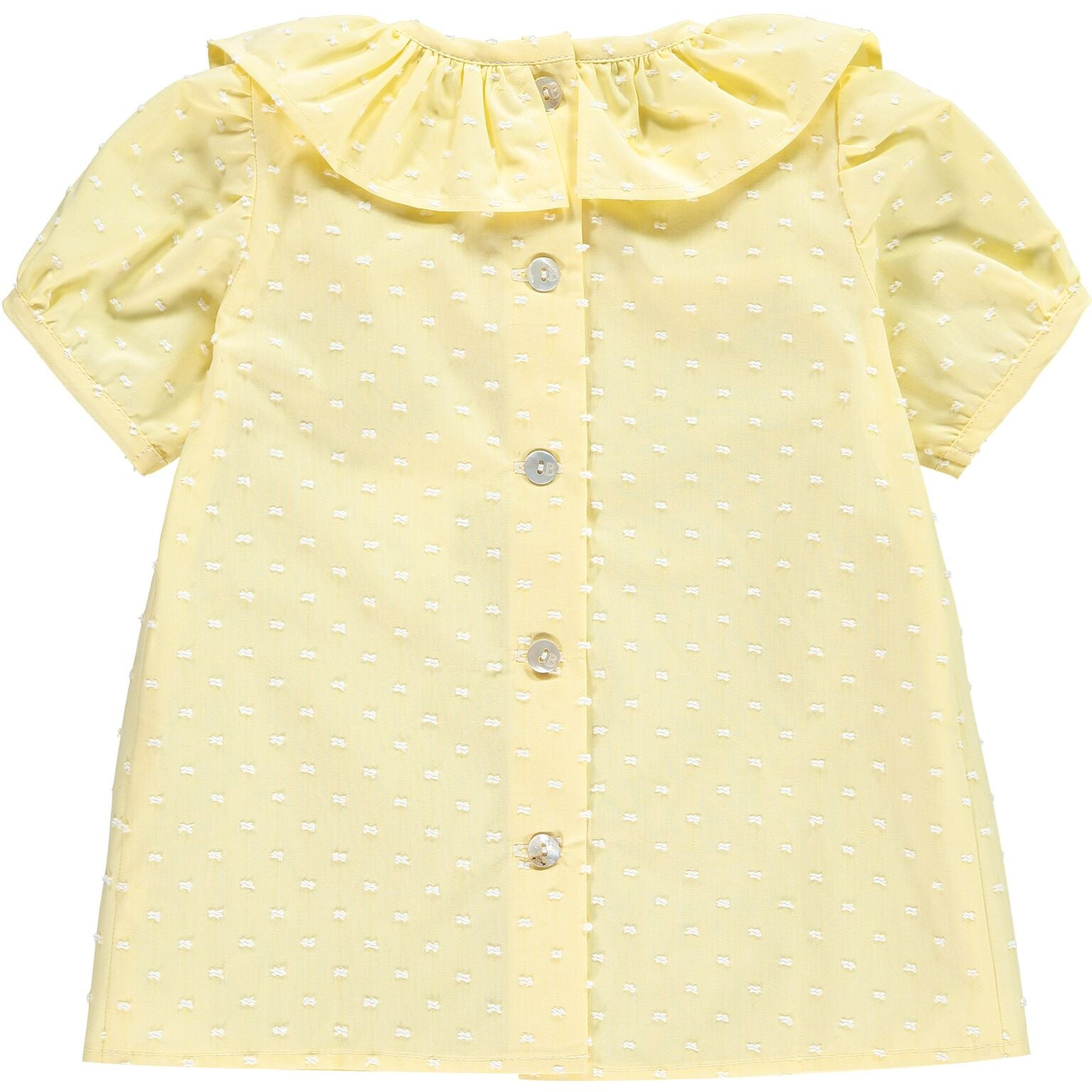 Yellow Plumetti Shirt