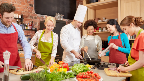 Cooking Classes I The Panic Room Online
