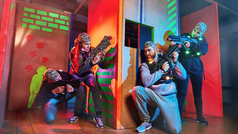 Laser Tag - Team Building I The Panic Room Online