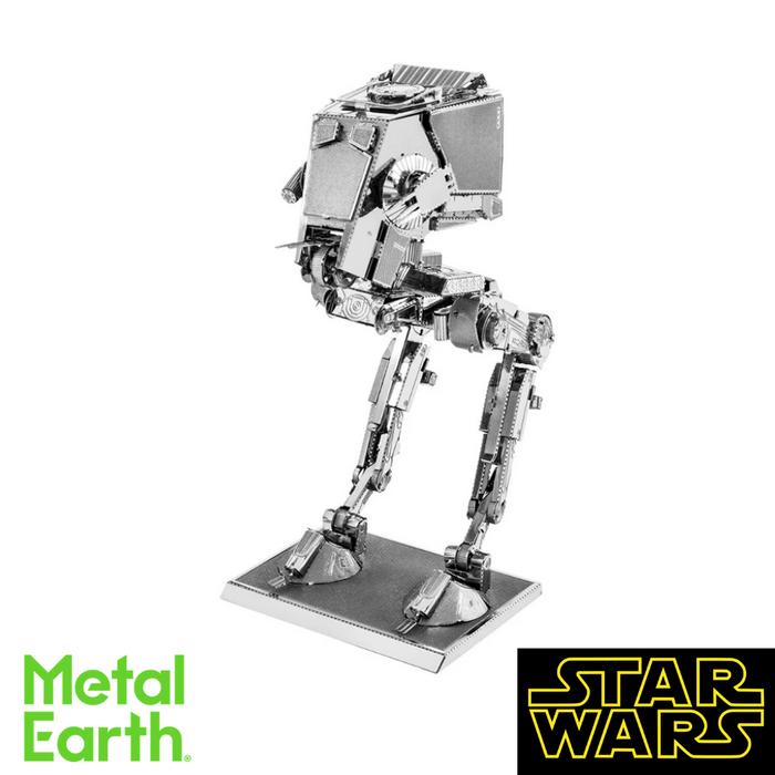 Metal Earth Puzzle - AT-ST - DIY 3D Model Kit / Metal Jigsaw Puzzle