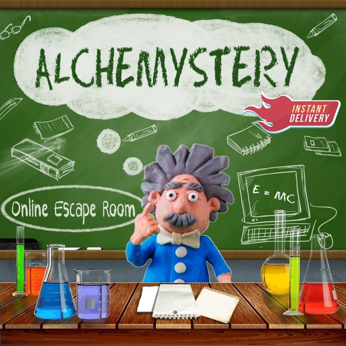 Alchemystery - Family Online Escape Room *New For 2021* - The Panic Room Escape Ltd