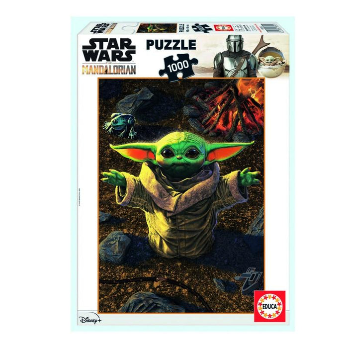 Baby Yoda 1,000 Piece Puzzle - The Panic Room Escape Ltd