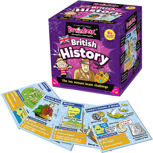 BrainBox - British History - Card Game - The Panic Room Escape Ltd