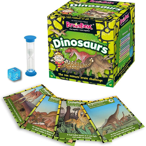 BrainBox - Dinosaurs - Card Game - The Panic Room Escape Ltd