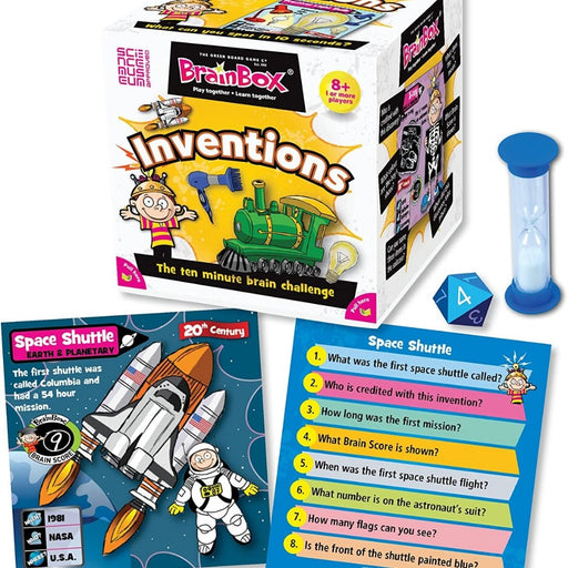 BrainBox - Inventions - Card Game (Approved by The Science Museum) - The Panic Room Escape Ltd
