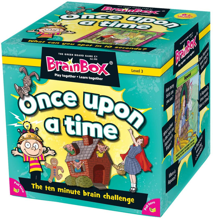 BrainBox - Once Upon a Time – Fairy Tale - Card Game - The Panic Room Escape Ltd