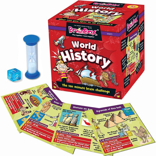 BrainBox - World History - Card Game - The Panic Room Escape Ltd