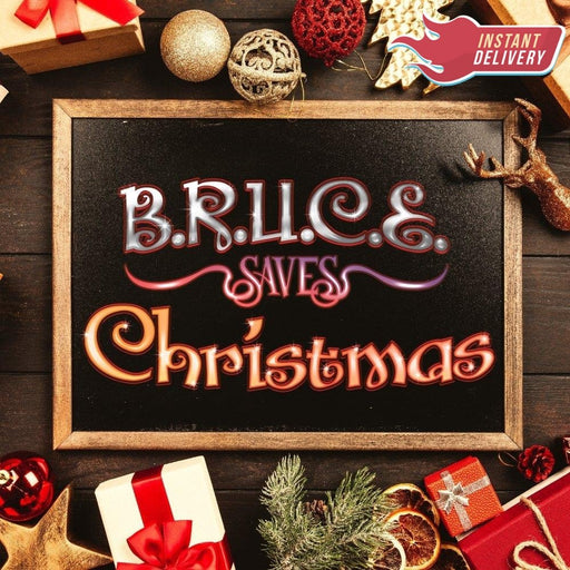 B.R.U.C.E. Saves Christmas - Online Escape Room Adventure - The Panic Room Escape Ltd