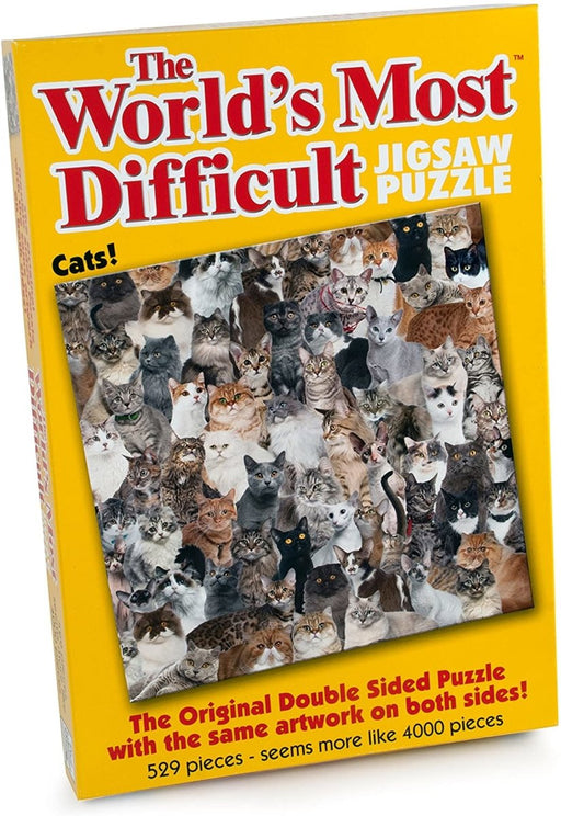 Cats - The World's Most Difficult Jigsaw Puzzles - The Panic Room Escape Ltd