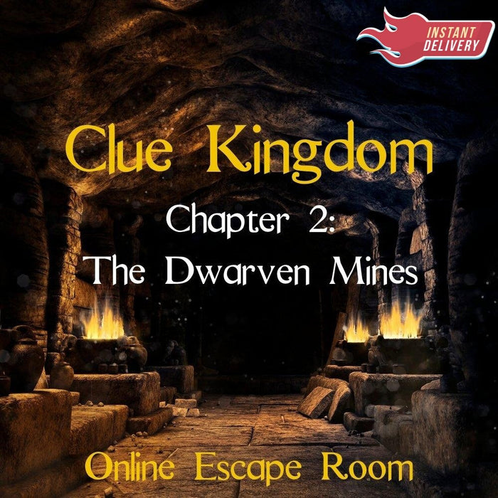 Clue Kingdom: The Dwarven Mines - Online Escape Room Experience - The Panic Room Escape Ltd