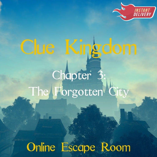 Clue Kingdom: The Forgotten City - Online Escape Room Experience - The Panic Room Escape Ltd