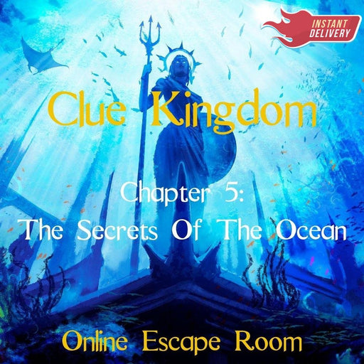 Clue Kingdom: The Secrets Of The Ocean - Online Escape Room Experience - The Panic Room Escape Ltd