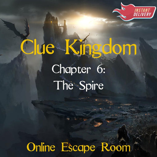 Clue Kingdom: The Spire - Online Escape Room Experience - The Panic Room Escape Ltd