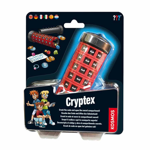 Cryptex - Hide A Message Or Gift! - The Panic Room Escape Ltd