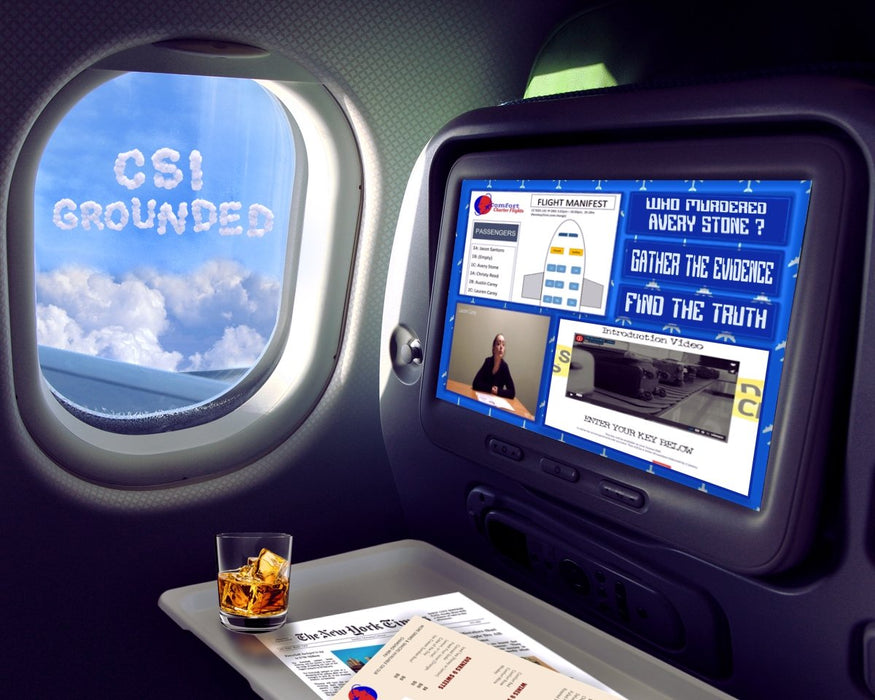 CSI: Grounded - Online Escape Room Experience - The Panic Room Escape Ltd