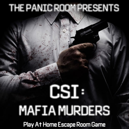 CSI Mafia Murders - Remote Team Building Package - The Panic Room Escape Ltd