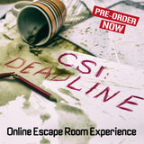 CSI Online Escape Room - 4 Pack - The Panic Room Escape Ltd