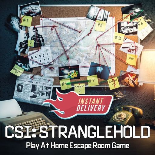 CSI Stranglehold - Remote Team Building Package - The Panic Room Escape Ltd