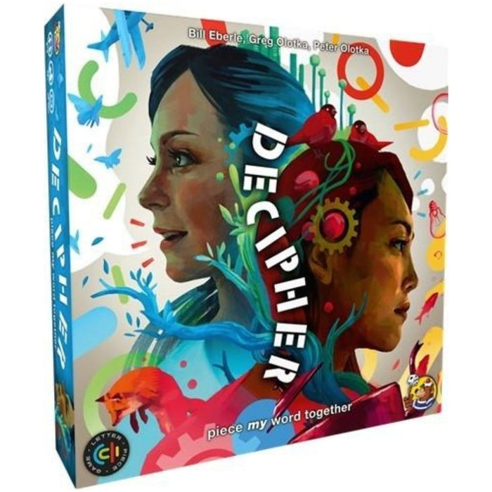 DECIPHER - Board Game - The Panic Room Escape Ltd