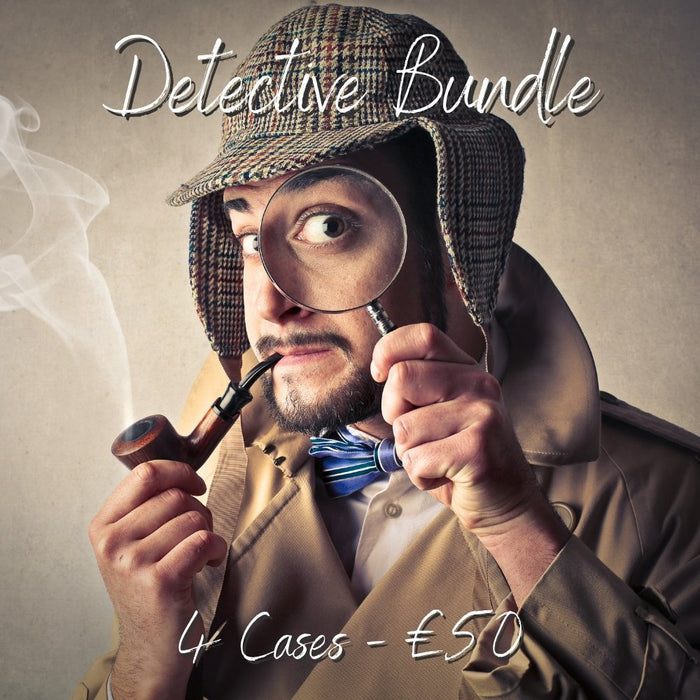 Detective Online Escape Room Bundle - 4 Games - The Panic Room Escape Ltd