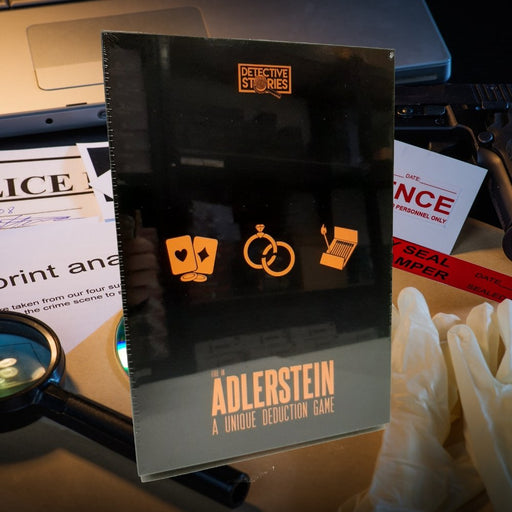 Detective Stories: Case 1 - Fire in Adlerstein - The Panic Room Escape Ltd