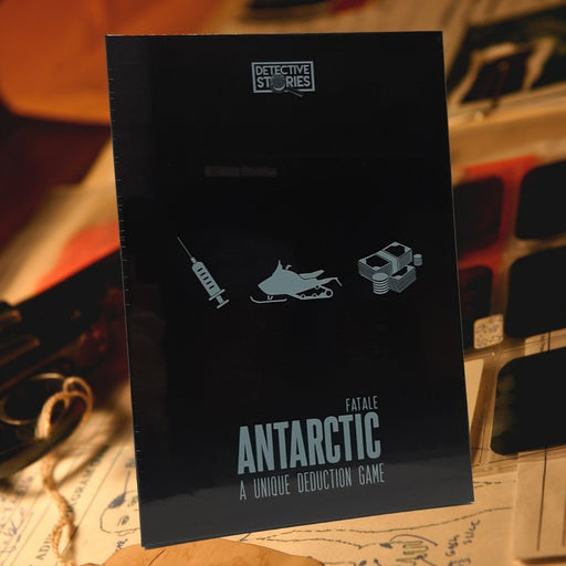 Detective Stories: Case 2 - Antarctic Fatale - The Panic Room Escape Ltd