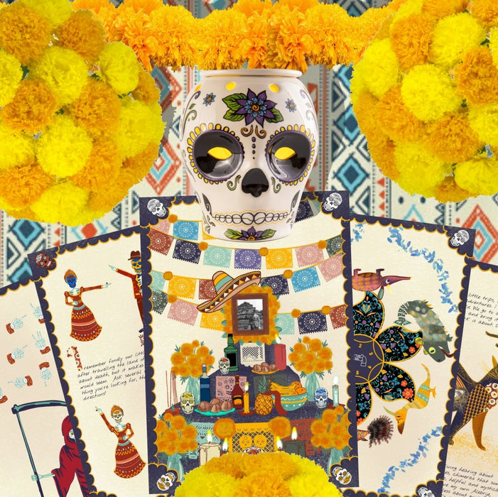 Dia De Los Muertos - Puzzle Book Experience - The Panic Room Escape Ltd