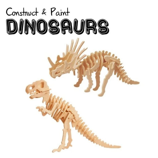 Dinosaur Construction Kit & Paint Set - The Panic Room Escape Ltd