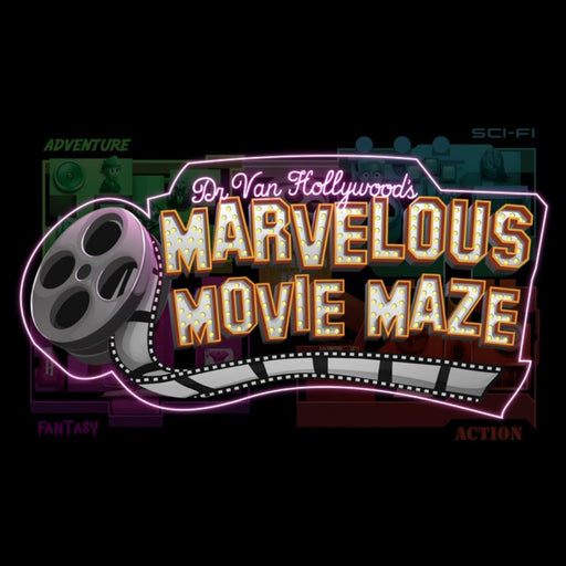 Dr. Van Hollywood's Marvelous Movie Maze - The Panic Room Escape Ltd
