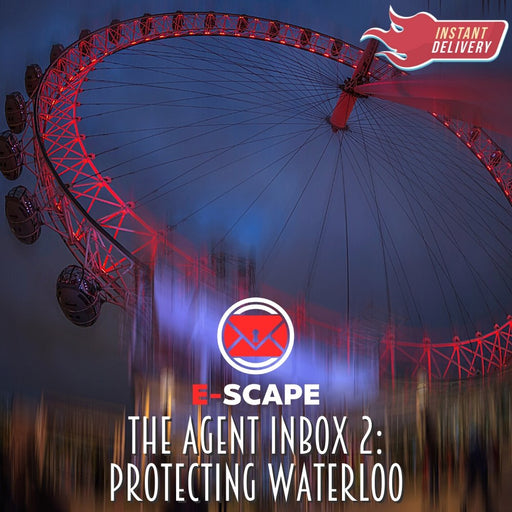 E-SCAPE: The Agent Inbox 2 - Protecting Waterloo *New for 2021* - The Panic Room Escape Ltd