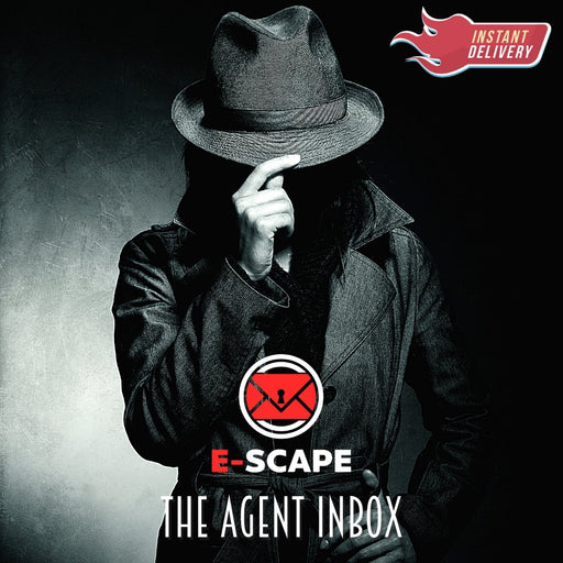 E-SCAPE: The Agent Inbox *New for 2021* - The Panic Room Escape Ltd