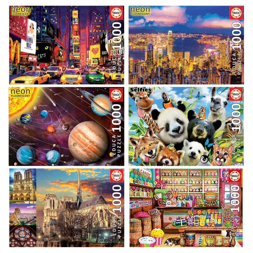 Educa 1000pc Jigsaw Puzzle Series - The Panic Room Escape Ltd