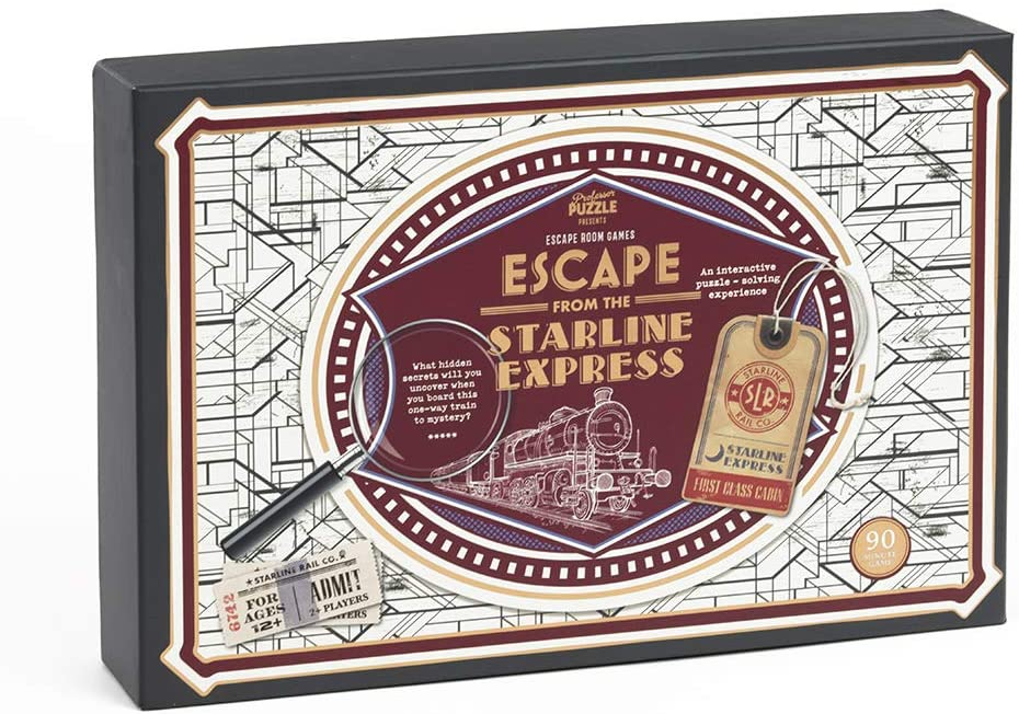 Escape from the Starline Express - The Panic Room Escape Ltd