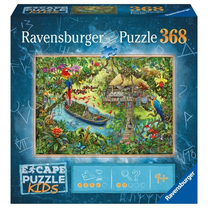 Escape Kids - Jungle Journey Jigsaw Puzzle - The Panic Room Escape Ltd