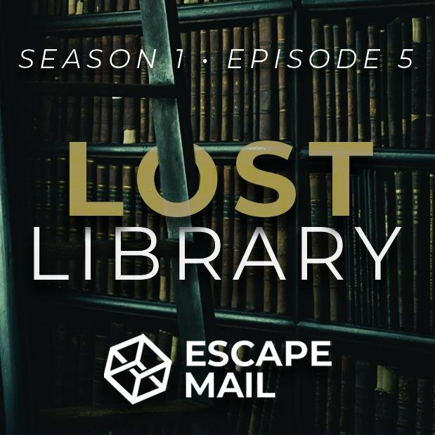 Escape Mail - Episode 5 - Lost Library - The Panic Room Escape Ltd