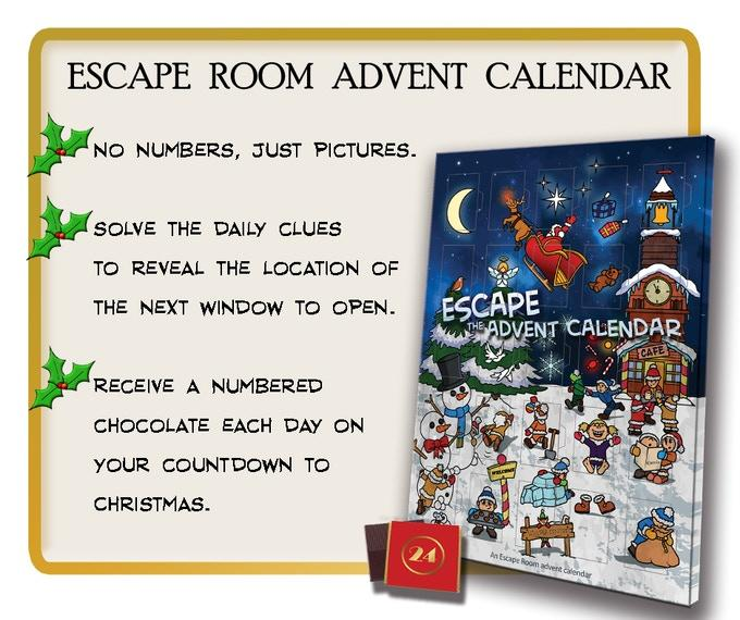 Escape Room Advent Calendars - The Panic Room Escape Ltd