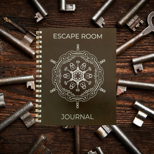 Escape Room Journal - Record your adventures! - The Panic Room Escape Ltd