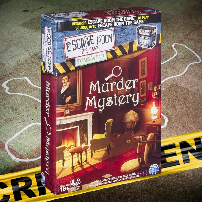 Escape Room the Game Murder Mystery Expansion Pack - The Panic Room Escape Ltd