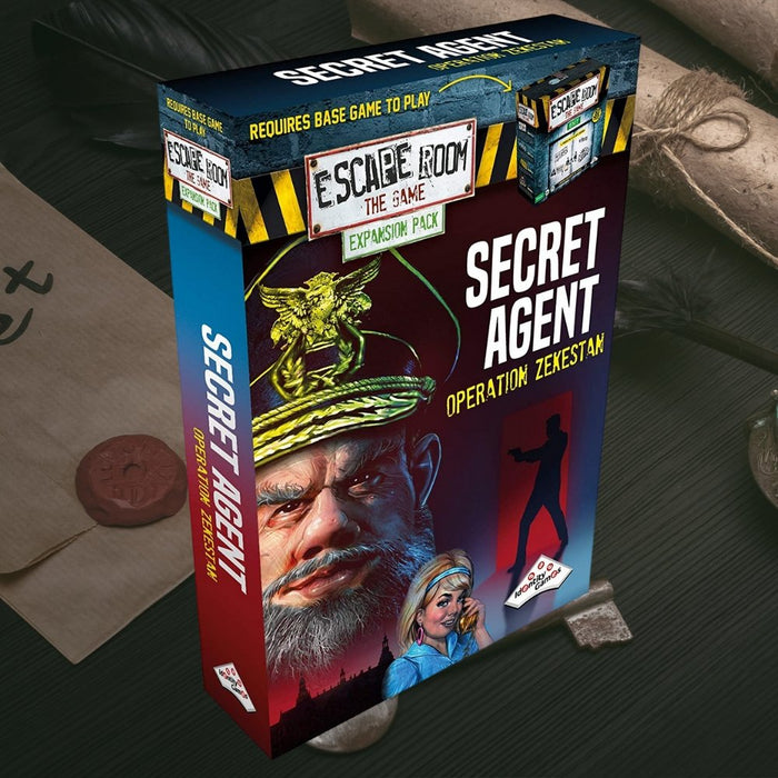 Escape Room the Game Secret Agent Operation Zekestan Expansion Pack - The Panic Room Escape Ltd