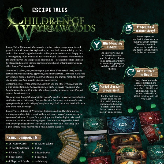 Escape Tales: Children of Wyrmwoods - The Panic Room Escape Ltd