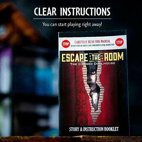Escape The Room - The Cursed Dollhouse - The Panic Room Escape Ltd