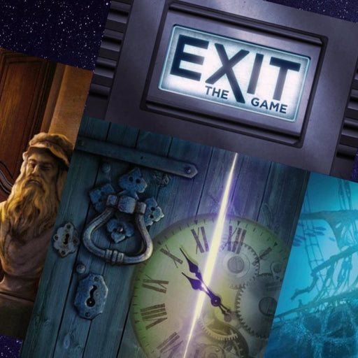 EXIT GAMES - 18 Games To Choose From - The Panic Room Escape Ltd
