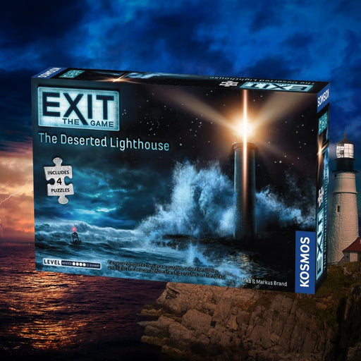 Exit: The Deserted Lighthouse (With Jigsaw Puzzles) - The Panic Room Escape Ltd