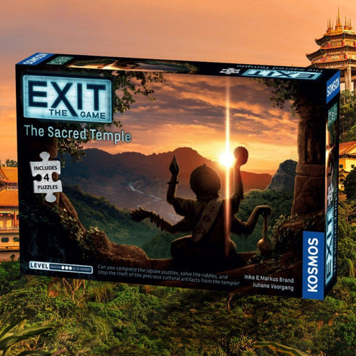 Exit: The Sacred Temple (With Jigsaw Puzzles) - The Panic Room Escape Ltd