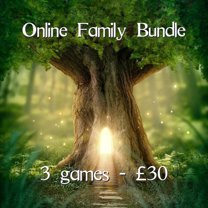 Family Online Escape Room Bundle - 3 Games - The Panic Room Escape Ltd