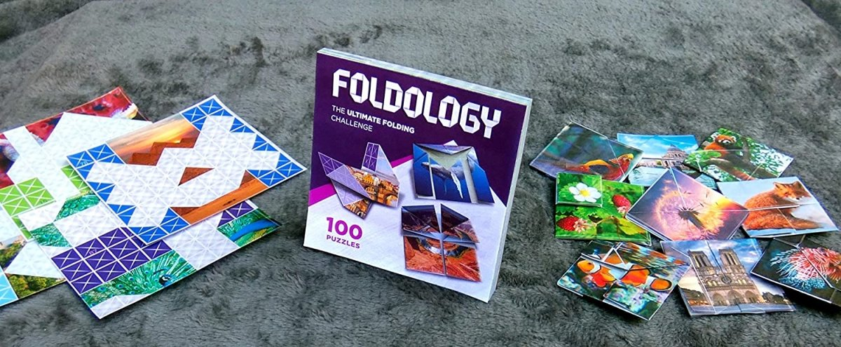 Foldology - Origami Puzzle Game | Hands-On Brain Teasers for Kids, Teens & Adults | 100 Challenges - The Panic Room Escape Ltd