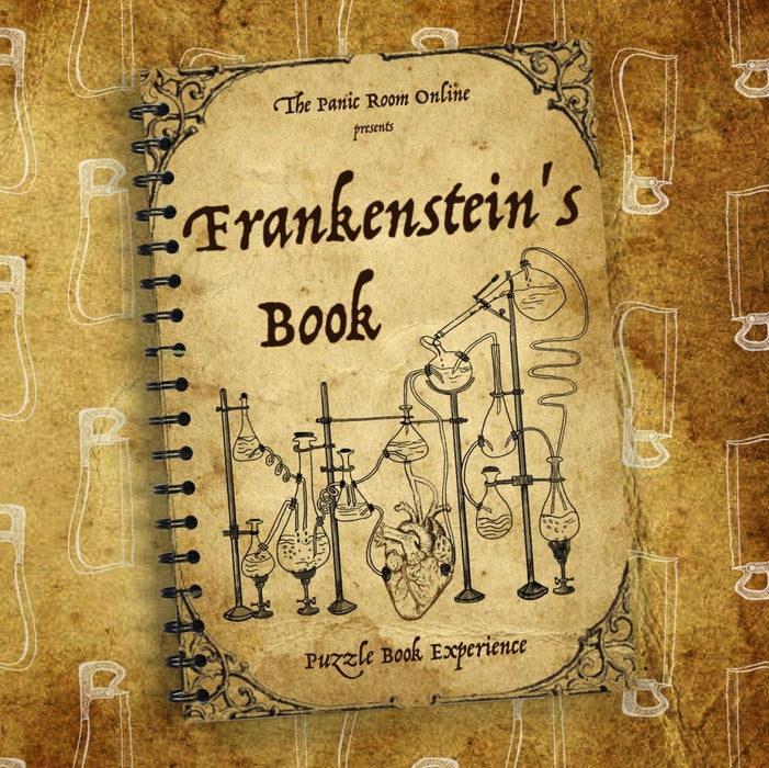 Frankenstein's Book - Puzzle Book Experience - The Panic Room Escape Ltd
